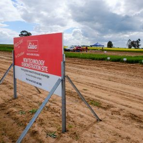 Elders sign onsite trial site