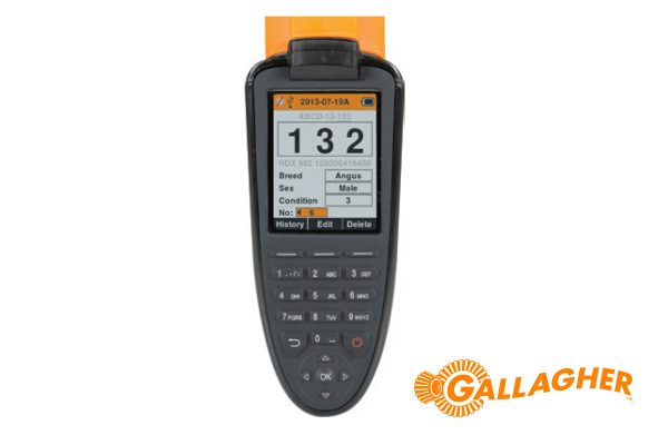 ggallagher Hand Held EID Tag Reader Data Collector